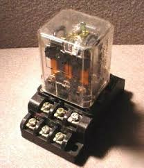 relay with 3 circuits common no nc u0026 base