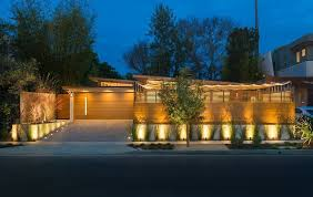 Led Landscape Flood Lights Led Yard Flood Lights With Contemporary Exterior And Awnings