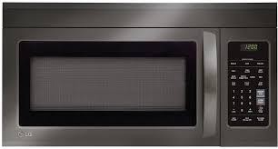 Microwave Toaster Combo Lg Lg Lmv1831bd 1 8 Cu Ft Over The Range Microwave Oven With Sensor