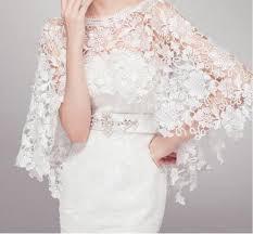 2017 gorgeous lace bridal shawl jacket wrap shrug cape stole