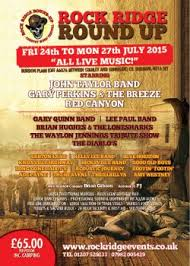 rock ridge round up country music festival 2015 festival details