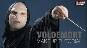 Lord Voldemort Halloween Costume Harry Potter Voldemort Makeup Tutorial Wholesale Halloween