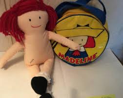 madeline plush doll etsy