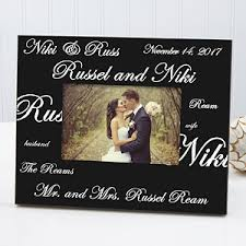 personalized wedding photo frame personalized wedding picture frames mr and mrs collection