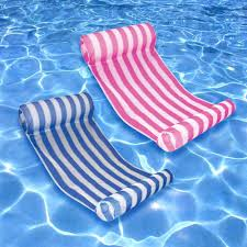 ocean blue key west blue and pink swimming pool hammock combo 2