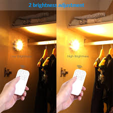 wireless led light with switch amir wireless led puck light with remote control under cabinet