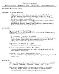 resumes exles for resume sle for an editor susan ireland resumes