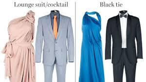 deciphering dress codes