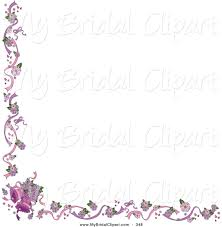 purple martini clip art purple wedding border clipart 58