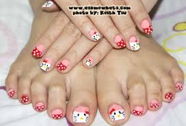 hello kitty nail art tutorial image collections nail art designs