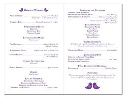 Wedding Programs Samples 17 Best Ceramony Images On Pinterest Wedding Stationary