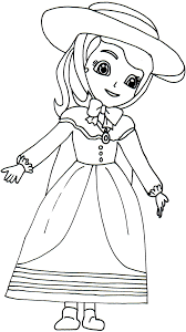 sofia printable coloring pages