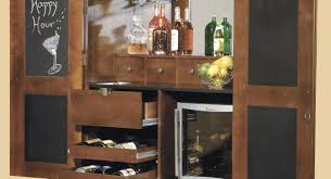 bar elegant portable black home bar cabinet with expandable bar