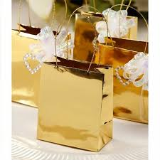 gold gift bags 12 tiny gold foil favor and gift bags with silver handles 2 1 2 x