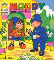 noddy trouble enid blyton
