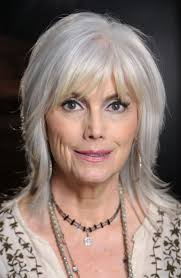 long bob hairstyle for women over 50 gray hair funky layered bob