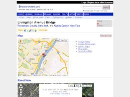 Yahoo Maps Street View Bridgehunter Com Livingston Avenue Bridge