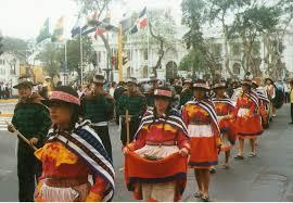 cerro de pasco noticias de cerro de pasco diario correo pasco celebrará 68 aniversario de creación con colorido pasacalle
