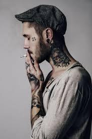 Imagenes Tatuajes Cuello   tatuajes en el cuello que detonan la sensualidad de la anatomía