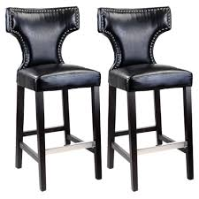 Furniture Bar Stool Chairs Backless by Furniture Bar Stools Counter Height With Backless Leather Swivel