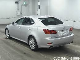 japan toyota lexus used 2005 lexus is 250 silver for sale stock no 51869 japanese