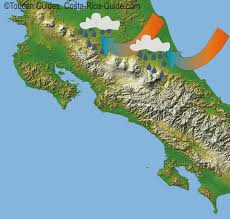 Map Costa Rica Costa Rica U0027s Cloud Forest Ecozones