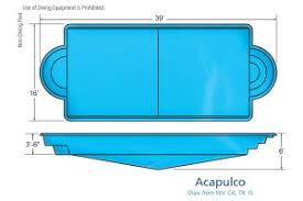 swimming pool sizes large pool sizes viking inground fiberglass swimming pools