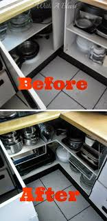how to organise kitchen corner cupboard open up the kitchen corner cabinet with a blast