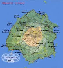 Map Of Greece Islands by Thassos Greek Islands Thasos Hotels In Greece Vacation Thasos