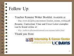 Resume Writer Online by Resume Writing Presenting Yourself On Paper Ppt Download