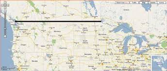 map for usa and canada map of usa and canada border my