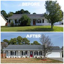 home exteriors before and after stupefy and fixer upper 10 jumply co