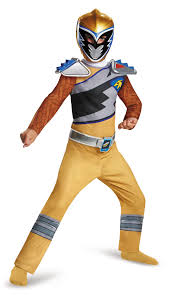 power rangers halloween costume kids gold power ranger dino charge boys costume 20 99 the