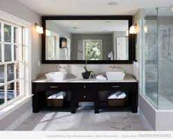 how to frame a bathroom mirror large frameless mirrors soapp culture