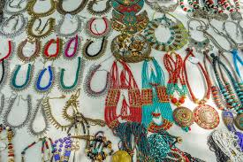 shop selling metal ornaments or jewelries like