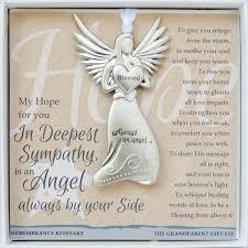 bereavement gifts angel keepsake