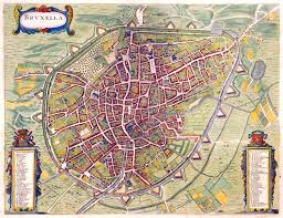 Brussels Germany Map Maps Of Brussels Detailed Map Of Brussels In English Maps Of