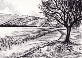 landscape sketches google search sketching pinterest