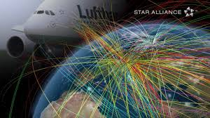 Star Alliance Route Map Star Alliance Youtube