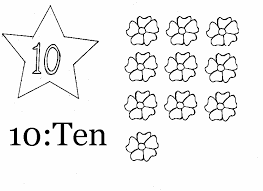 number 10 coloring pages exprimartdesign