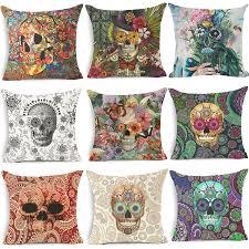Sofa Decorative Pillows by Online Get Cheap Skull Decorative Pillows Aliexpress Com