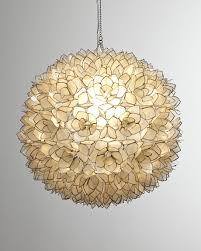 Seashell Light Fixture Lotus Pendant Light Seashell Chandelier Capiz Chandelier