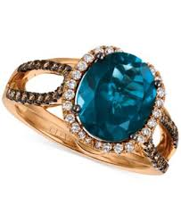 rings topaz images Le vian chocolatier blue topaz 4 ct t w diamond 3 8 ct tif
