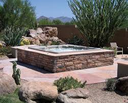 above ground pool landscaping above ground spas california