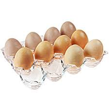 ceramic egg tray 12 mygift clear acrylic 12 egg tray holder refrigerator