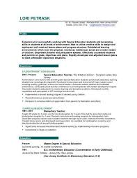 example of teacher resume teachers resume example best 25 teacher
