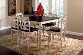 costco dining room set fancy design pc square counter height table stools black and pc