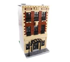 purchase custom lego instructions upper west side brownstone house