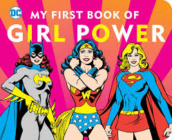 amazon com dc super heroes my first book of power
