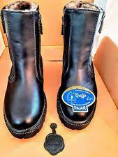 s shearling boots canada s pajar black waterproof shearling lined zipper boot